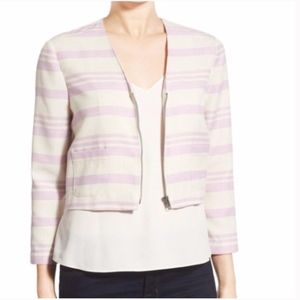 NWT Cupcakes and Cashmere Crop Jacket Blazer L